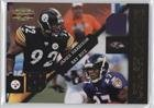 James Harrison; Ray Rice #134/250 (Football Card) 2011 Panini Gridiron Gear - Crash Course - Jerseys [Memorabilia] #7