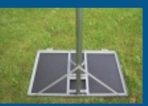 AI NPRM-456-6 Non-Penetrating Roof Mount 2'' OD 6ft Mast