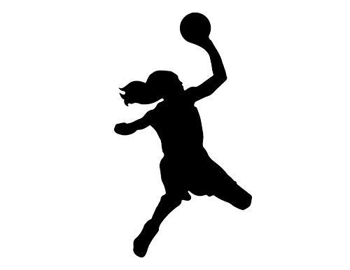 JB Print Basketball Player Shooting Lefthanded Vinyl Decal Sticker Car Waterproof Car Decal Bumper Sticker 5