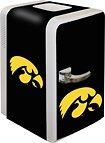 NCAA Iowa Hawkeyes Portable Party Fridge, 15 Quarts