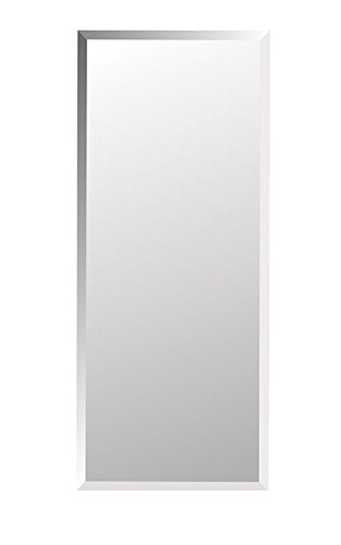 Jensen 868P34WHG Frameless Horizon Collection Single Door Recessed Cabinet, 36-Inch High 4-1/2-Inch Depth