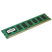 (Crucial CT51272BA1067 4GB 240-pin pc3-8500 DDR3 1066mhz ECC desktop memory module - NEW - Retail - CT51272BA1067 )
