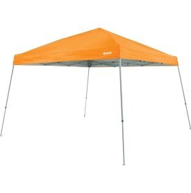 Quest Q64 10 FT. x 10 FT. Slant Leg Instant Up Canopy With Carry Bag (Bright Orange)