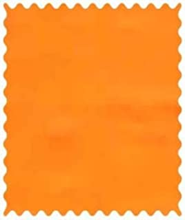 product image for SheetWorld 100% Cotton Percale Fabric by The Yard, Solid Orange Woven, 36 x 44
