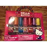 Hello Kitty 7 Pack Nail Polish Set