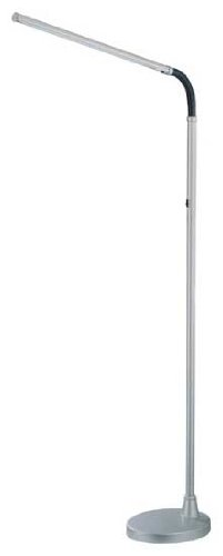 Black Fluorescent Floor Lamp - 7