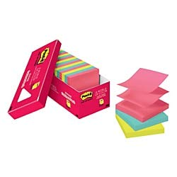 Post it Pop up Notes, 3'' x 3'', Cape Town, Pack of 18 Pads