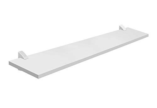 Prateleira Concept Suporte Plástico Branco