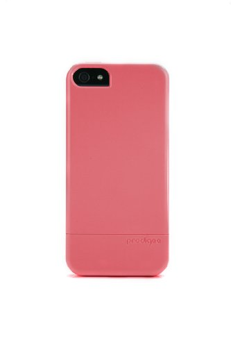 Prodigee Sleek Slider Neon Peach For iPhone 5 / 5s / SE 2 piece Case protective slim thin cover