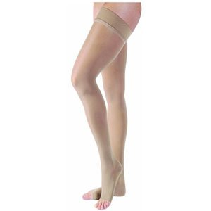 BI119783 - Bsn Jobst Ultrasheer Thigh-High with Silicone Band, 30-40, Open, X-Large, Natural by Bsn Jobst