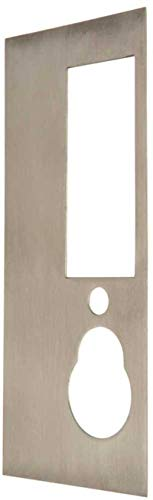 (Falcon 4170 US32D Cover Plate for 19 Series Knob and Lever Controls Satin Stainless Steel Finish )