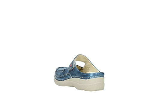 Sneakers blu 10870 For Nubuck Wolky Fashion Women YqT557