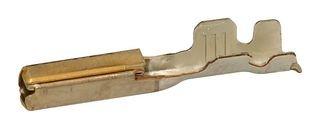 33467-0006-Contact, MX123 MX64 33467 Series, Socket, Crimp, 18 AWG, Gold Plated Contacts (10 Pieces) - Molex Crimp Socket