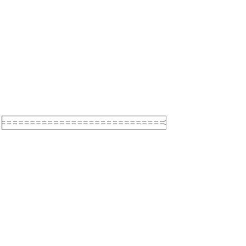 Siltek Pack of 5 78.5 mm Length 1 mm ID RESTEK 20973-214.5 Straight Inlet Liner Borosilicate Glass 6.30 mm OD