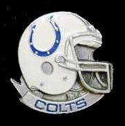 NFL Team Helmet Pin - Indianapolis Colts