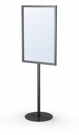 Monster Signholders Color: Satin Silver, Size: 24'' x 36'' by Testrite