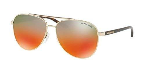 (Michael Kors Women's Hvar Light Gold/Teal To Orange Gradient Mirror One Size )