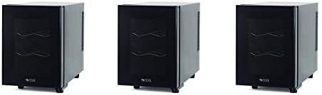 Commercial Cool CCWT060MB Thermal Electric 6 Bottle Wine Cellar, BlackElectric 6 Bottle Wine Cellar, Black 3