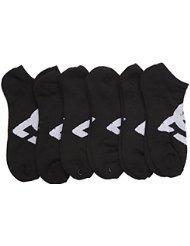 DC 6-Pack Mens Sport No Show Socks Size 10-13