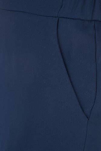 Polyester P h r Femme Bleu D230087x012 o Pantalon a s PPTHnAgq