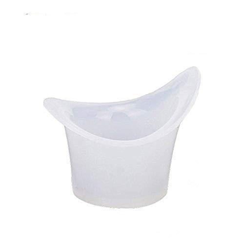 FOYARA Eye Bath Silicone Eye Wash Cup Set of 12 for Refresh and Clean Tired Eyes
