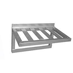 "PVIFS TBWS2060PH Pot Rack Wall Shelf, 60"" Length x 20"" Wi..."