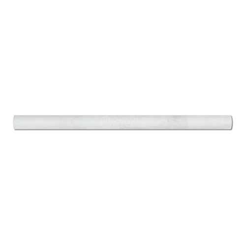 Crystal White Marble Polished Pencil Molding Trim Bullnose Ogee 3/4