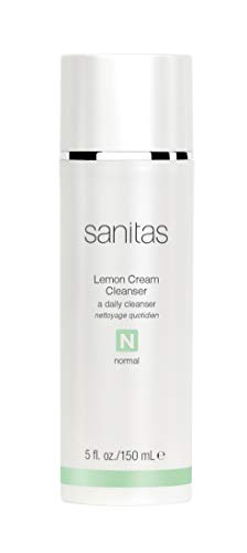 Sanitas Skincare Lemon Cream Cleanser, Enriching Cleanser, 5 fl. oz./ 150 ml