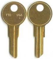 Knoll, HON, Steelcase, or Allsteel File and Cubicle Replacement Keys (Pair)