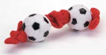Coastal Pet Li039;l Pals Tug Toy Soccer Balls