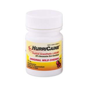 - Hurricane Gel, 20%, Cherry, 1oz