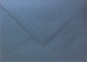 (Stardream Iris Blue 4 Bar Euro Flap Envelope (3 5/8