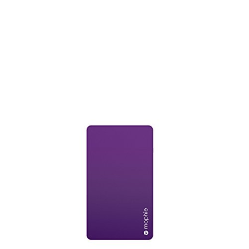 mophie powerstation Mini External Battery for Universal Smartphones and Tablets (3,000mAh) - Purple