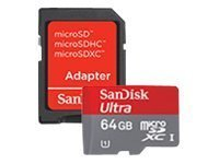 619659084844 - Sandisk Ultra microSDXC UHS-I Card for Camera (SDSDQUI-064G-A11) carousel main 1