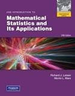 Amazon student solutions manual for introduction to an introduction to mathematical statistics and its applications fandeluxe Image collections