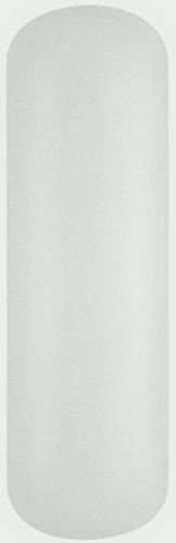 Sea Gull Pillow Lens - Sea Gull Lighting 4939EN3-68 Pillow Lens Vanity, 1-Light LED 9.5 Watts, White Plastic