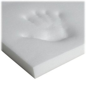 Memory Foam Crib Mattress Topper For Cribtoddler Bed Size 28x52 by Ababy