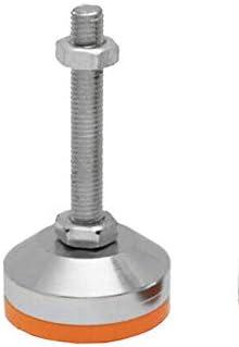 Schwerlast Maschinenfu/ß /Ø 50x90mm M12 Stellfu/ß Vibrationsd/ämpft und H/öhenverstellbar in 8 Gr/ö/ßen ausw/ählbar