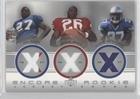Thomas Jones; Shaun Alexander; Ron Dayne (Football Card) 2000 Upper Deck Encore - Rookie Combo Jerseys #RC8