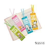 Love One Another Bookmarks (Peanuts Bookmarks Spring Inspirational (One Dozen))