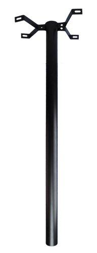 BURG-WÄCHTER, Stützpfosten für US-Mailbox, 1500mm lang, 893 S, Schwarz