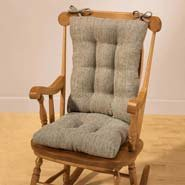 Tyson Rocking Chair Cushion Set, Navy Blue
