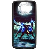 iFUOFF Pokemon Shiny Embryon Fashion Design Protective Snap-on Case for Samsung G9200 GALAXY S6 Black Cover Case and DustPlug