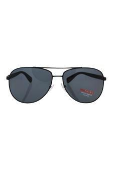 6517c22383 Amazon.com   Prada Sps 510 1bo-5z1 - Black grey Polarized Sunglasses For  Unisex   Beauty