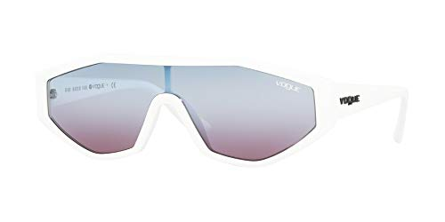 Vogue Woman Sunglasses, White Lenses Injected Frame, ()