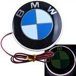 White Light Car Logo LED Lamp Automobile Badge Light for BMW