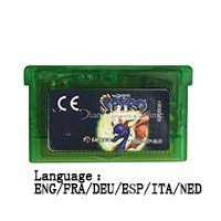 ROMGame 32 Bit Handheld Console Video Game Cartridge Card The Legend Of Spyro The Eternal Night Eng/Fra/Deu/Esp/Ita/Ned Language Eu Vers Clear green shell