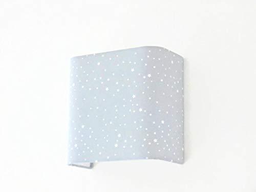 Applique murale demi cylindre luminaire rose étoiles blanche