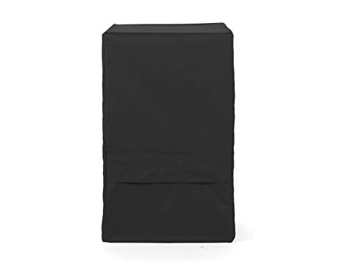 Covermates - Smoker Cover - Fits 27 Inch Width, 20 Inch Depth and 40 Inch Height - Ultima Ripstop - 600D Fade/Water Resistant Poly - Auto-Locking Locking Drawcord - 7 Year Warranty- Ripstop Black - Smoker Covermates Covers