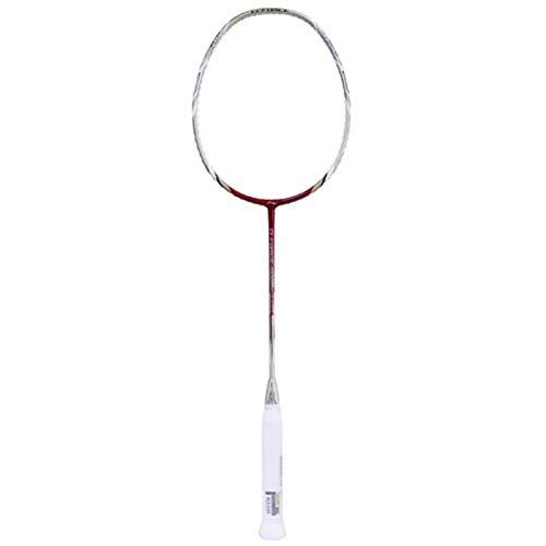 Li Ning G Force Lite 8000 Graphite Badminton Racquet, G4  Silver